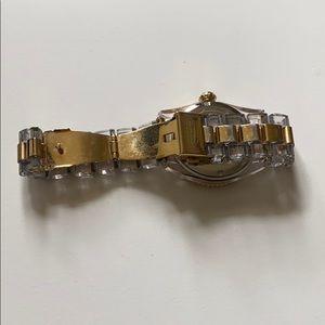 Coach Accessories - Coach yellow gold and clear watch